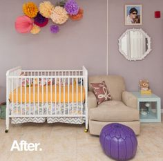 benjamin moore victoria mauve is a great purple for a nursery or for an adult room