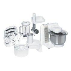 off on Bosch Küchenmaschine MUM 4880 weiss/si. 600 Watt, 4 S Best Stand Mixer, Stand Mixers, Robot Thermomix, Kitchenaid Artisan, Kitchen Machine, Blenders, Porto, Kitchenaid