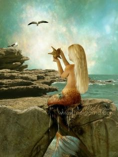 A Mermaid Birthday Party - Sally Lee by the Sea Coastal BlogBeach House Decorating