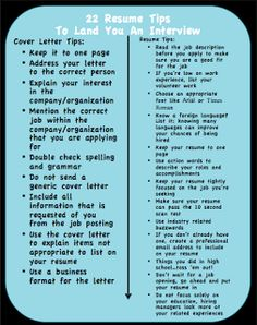 22 great resume writing tips boy how things have changed - Tips On A Good Resume