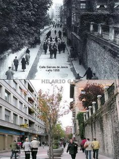 Calle Siervas de Jesus 1958-2005
