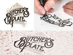 Dribbble - Butcher's Plate by Martin Schmetzer