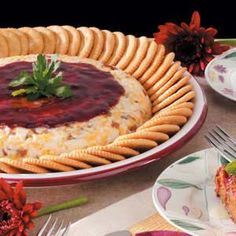 Raspberry Cheese Spread, trust me, everyone will want this recipe from you, it is so good!