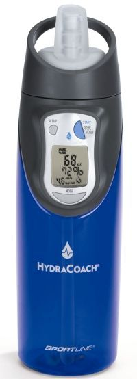 HydraCoach; calculates your need for hydration I want this!!!!