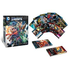 DC Deck Building Game: Crisis Expansion 1