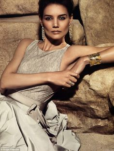 Katie Holmes returns to her roots as a model in a stunning photo shoot for H.Stern jewellers