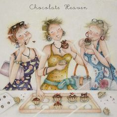 Cards » Chocolate Heaven » Chocolate Heaven - Berni Parker Designs