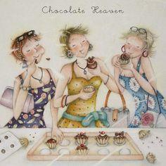 Cards » Chocolate Heaven » Chocolate Heaven - Berni Parker Designs