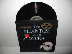 Rare Vinyl Record The Phantom of the Opera Original Cast Double Album LP 1987 Andrew Lloyd Webber Musical Classic