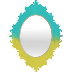 Allyson Johnson Caribbean Baroque Mirror   DENY Designs Home Accessories