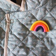 DIY : Rainbow Badge