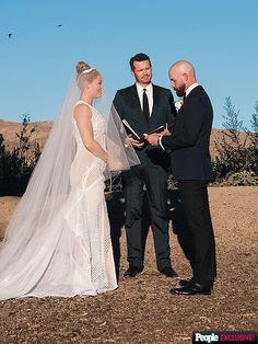 Erika Christensen wedding