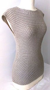 #Crochet Top Pattern. Sizes: XS-3X. PDF, written Document (w/lots of pics).