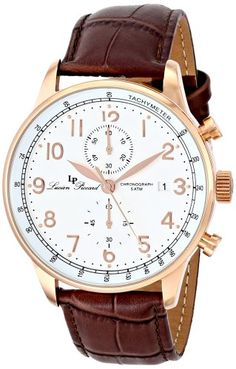 Lucien Piccard Men's LP-10503-RG-02-BR Montilla Analog Display Japanese Quartz Brown Watch - http://www.specialdaysgift.com/lucien-piccard-mens-lp-10503-rg-02-br-montilla-analog-display-japanese-quartz-brown-watch/