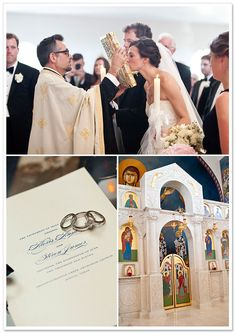 Photography - Traditional Greek Orthodox Wedding by SMS Photography on BorrowedandBleu.comEvent Designer: CLINK ~ Austin, TX Floral Designer: Merveille Floral & Design ~ Austin, TX Musicians: Sauce the Band ~ Austin, TX Ceremony Location: Transfiguration Greek Orthodox Church ~ Austin, TX Makeup Artist: Face Kandy ~ Austin, TX Reception Venue: Barton Creek Country Club ~ Austin, TX Photography: SMS Photography ~ Austin, TX