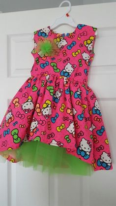 A party dress i made for my God daughter's birthday:)