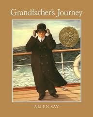 Grandfather's Journey {FI♥AR}:  Link contains some ideas about what they did as they used this book but needs some actual links to activities; from Delightful Learning