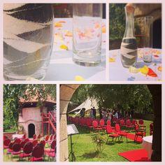 Freie Trauung - Zeremonie in der Kulisse des Märchenturms - zur Eheschließung gabs auch ein Sandritual