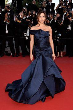 Eva Longoria de Atelier Versace - Cannes 2015