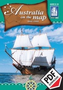 Australia On The Map (Ages 8-10) ebook teacher resource including worksheets