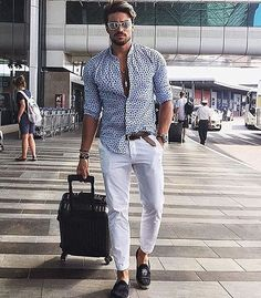 Swagged up airport look ✔️ @marianodivaio