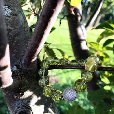 Peridot Bracelet/ Peridot/ olive green/ heart chakra/ | Etsy