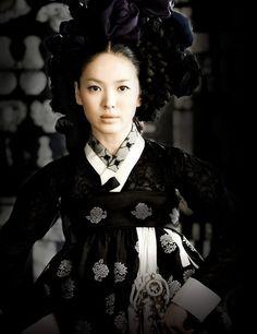 Hwang Jini- Song Hye Kyo hanbok