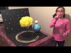 Model of the Earth moon and sun by Ayla H - YouTube