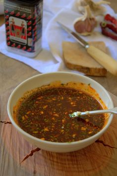 Salsa CHIMICHURRI para carnes, receta