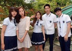 who are you school 2015 School Uniform Girls, Girls Uniforms, Kim So Hyun Fashion, Who Are You School 2015, Teen Series, Yook Sungjae, Btob, Kim Sohyun, Drama School