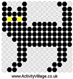 Black Cat Fuse Bead Pattern