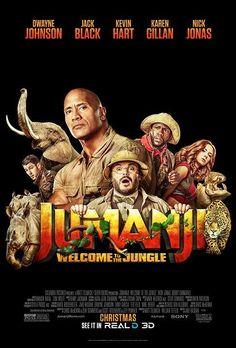 Jumanji - 2 new posters: https://teaser-trailer.com/movie/jumanji/  #Jumanji #JumanjiWelcomeToTheJungle