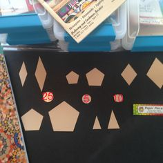 These are the paper pieces used in the La Passacaglia Quilt.