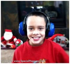 Shooting Range Headphones great tips on how to help those with sensory processing issues enjoy the holidays