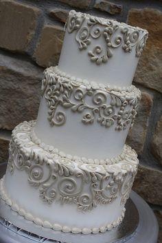 Silver Anniversary celebration cake