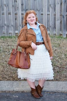 Western Shirts & Tulle Skirts = a simple 2-step formula for making tulle…