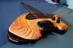 Guitarra de luthier personalizada Etayo Klein