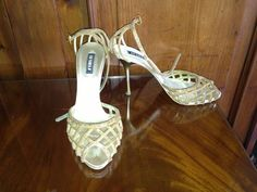 Golden night with LE SILLA amazing sandals