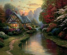 A Quiet Evening | The Thomas Kinkade Company
