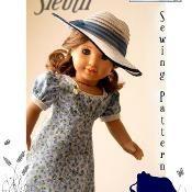 "Sleuth 30s Dress Pattern American Girl Dolls 18"" - via @Craftsy"