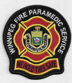Winnipeg Fire Paramedic