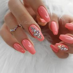 43 Beautiful Nail Art Designs for Coffin Nails Beautiful Nail Art, Gorgeous Nails, Love Nails, Pretty Nails, Pretty Nail Designs, Colorful Nail Designs, Nail Art Designs, Spring Nail Art, Spring Nails