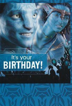 "Birthday Card Avatar ""It's Your Birthday!"" by Greeting Cards - Birthday. $3.99. Birthday Card Avatar ""It's Your Birthday!"" Party till you're Blue!. It's Your Birthday, 7th Birthday, Birthday Parties, Movie Party, Party Time, Avatar Films, Avatar Theme, Blue Avatar, Indiana Jones"