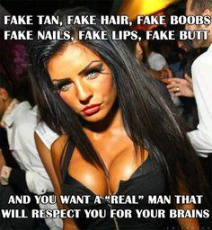 Natural or fakr boobs
