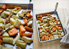 Recipes for Health - Roasted Carrots and Parsnips With Rosemary and Garlic - NYTimes.com