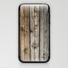 wooden wall background iPhone & iPod Skin