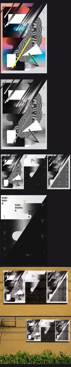 Ficciones Typografika / Sub-ways on Behance