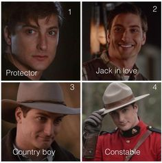 The Many looks of Mountie Jack!!! #WCTH