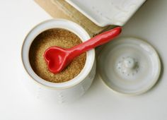 heart shaped scoop/spoon