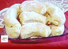 Hókifli, ez a recept nekem nagyon bevált! - Egyszerű Gyors Receptek Cake Cookies, Baked Goods, Dairy, Sweets, Cheese, Chicken, Meat, Baking, Food